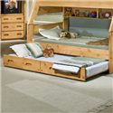 Trendwood Bunkhouse Trundle Bed - Twin - Item Number: 4739