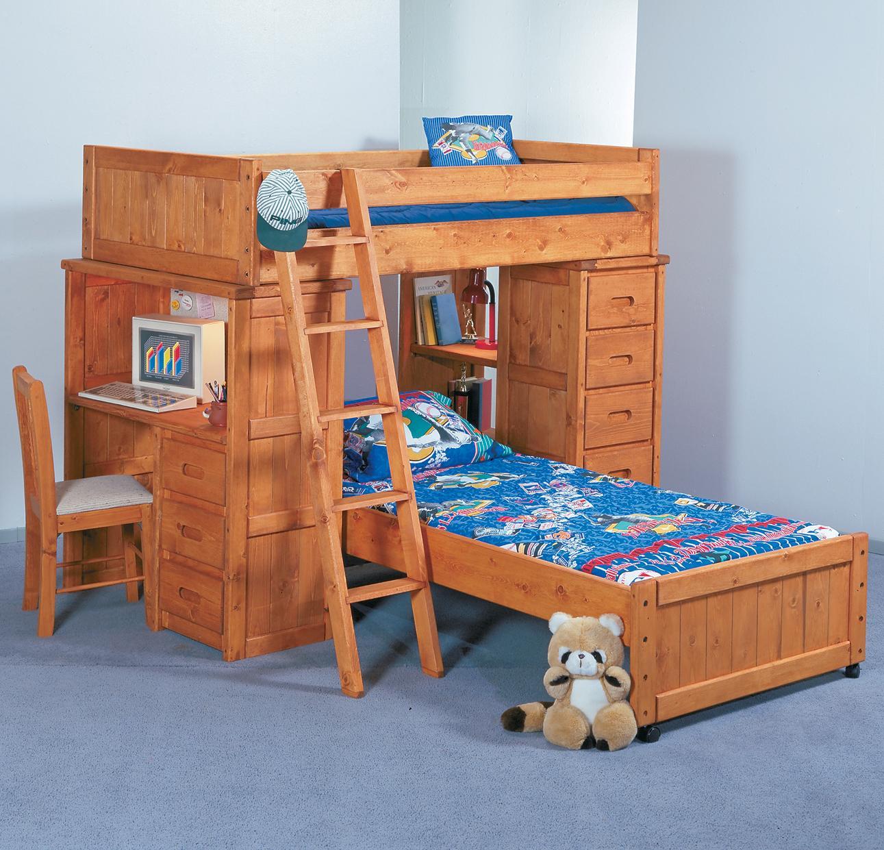 Twin/Twin Roundup Modular Loft Bed