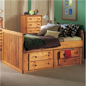 Twin Roper Captain's Bed