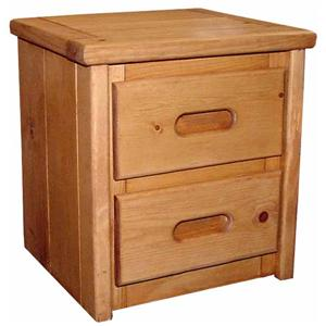 Trendwood Bunkhouse 2 Drawer Nightstand