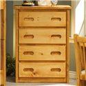 Trendwood Bunkhouse 4 Drawer Chest - Item Number: 4770