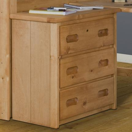Trendwood Bunkhouse Bunkhouse 3 Drawer Dresser - Item Number: 4771