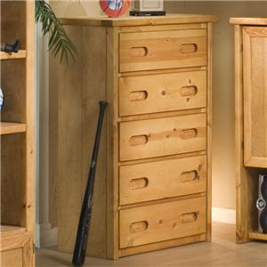 Trendwood Bunkhouse 5 Drawer Chest