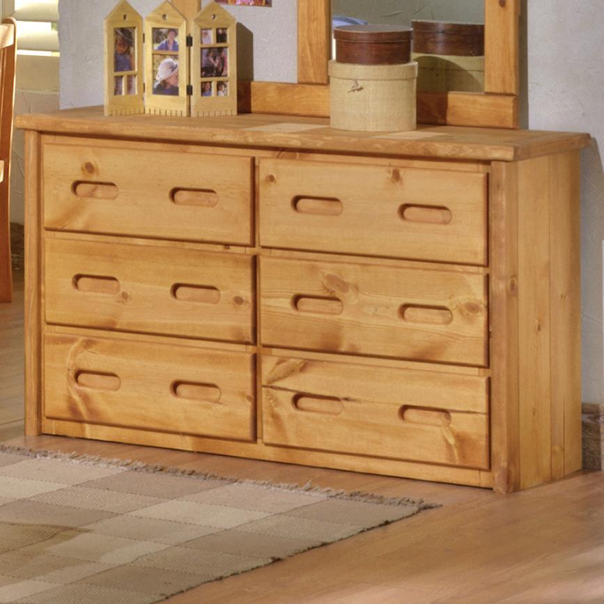 Trendwood Bunkhouse 6-Drawer Dresser - Item Number: 4775