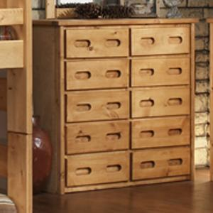 Trendwood Bunkhouse 10 Drawer Chest