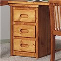 Trendwood Bunkhouse Bunkhouse 3 Drawer Stand - Item Number: 4784