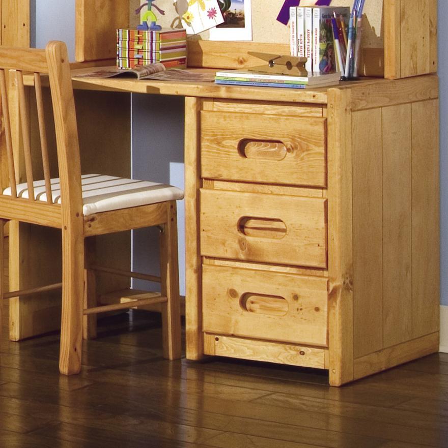 Trendwood Bunkhouse 4785ci Single Pedestal Student Desk