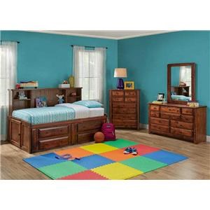 5 Piece Twin Roomsaver Bed