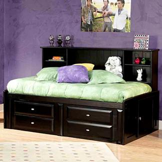 Trendwood Laguna Twin Roomsaver Bed With Four Drawer