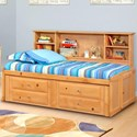 Trendwood Laguna  Twin Roomsaver Bed - Item Number: 4510CA+4511CA+4512CA+4545CA