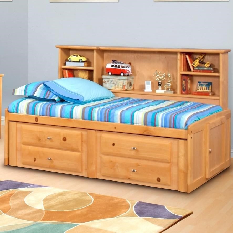 Trendwood Laguna Full Roomsaver Bed Homeworld Furniture