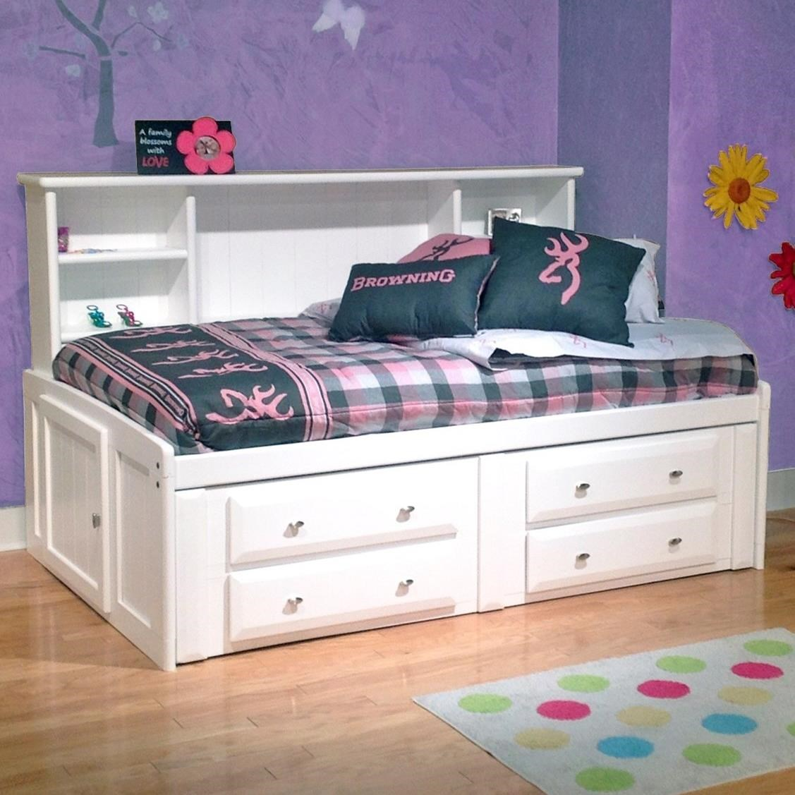 Trendwood Laguna Full Roomsaver Bed  - Item Number: 4510WH+13+14+45