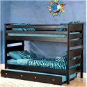 Trendwood Laguna  Twin/Twin Bunk Bed - Item Number: 4520+21+47