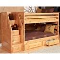 Trendwood Laguna  Twin/Twin Bunk Bed - Item Number: 4520CA+4521CA+4546CA+4526CA