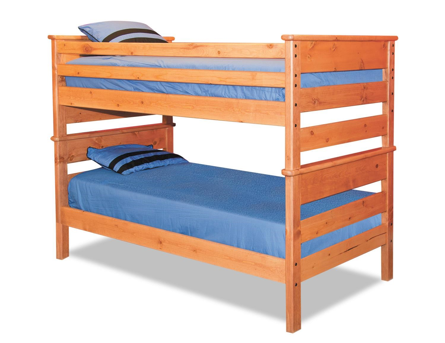Trendwood Laguna  Twin/Twin Bunk Bed - Item Number: 4520CA+4521CA