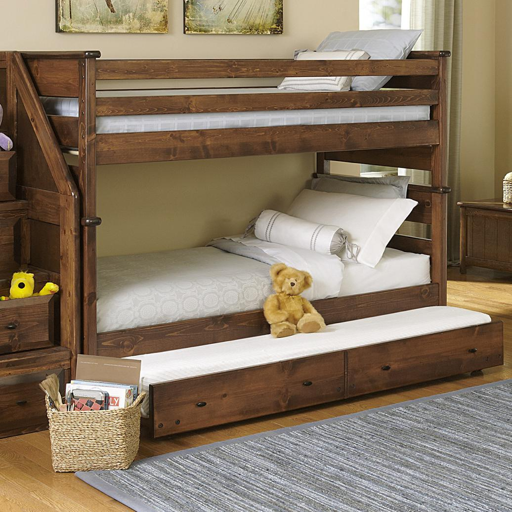 Trendwood Laguna Twin over Twin Bunk with Trundle - Item Number: 4520CH+21+47