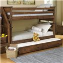 Trendwood Laguna Twin/Twin Bunk Bed - Item Number: 4520CH+21+47