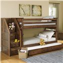 Trendwood Laguna Twin/Twin Bunk Bed w/ Trundle