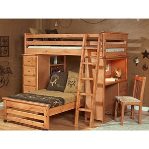 Trendwood Laguna  Loft Bunk Bed