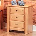 Trendwood Laguna  Three Drawer Nightstand - Item Number: 4538CA