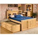 Trendwood Sedona  Twin Bookcase Bed  - Item Number: 4421+4422+4420+4432