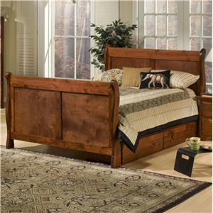 Trendwood Sedona Twin Full High Sierra Bunk Bed Sheely S