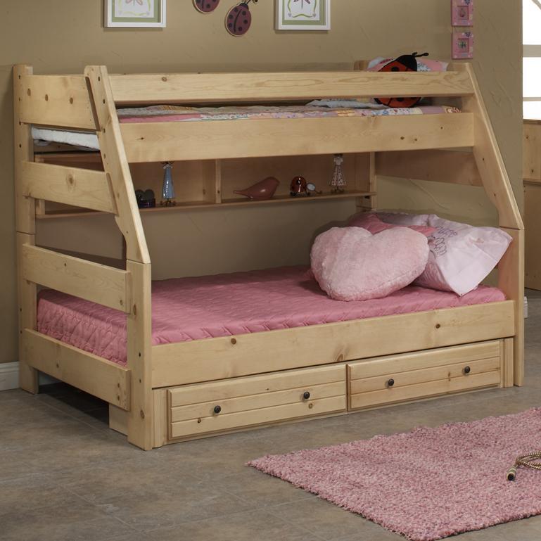 Trendwood Sedona Twin High Sierra Bunk Bed Dunk Amp Bright