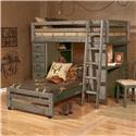 Trendwood Sedona Twin Loft Bed - Item Number: 568541063