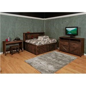5 Pc Twin Roomsaver Bed