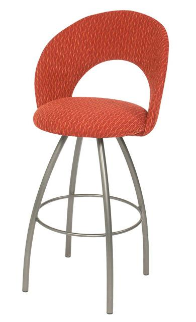 Trica Contemporary Bar Stools Biscotti Bar Stool - Item Number: Biscotti