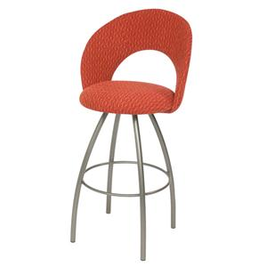 Trica Contemporary Bar Stools Biscotti Bar Stool
