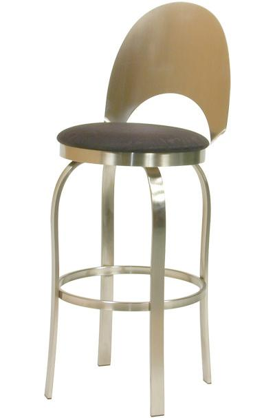 Trica Contemporary Bar Stools Champagne Bar Stool - Item Number: Champagne