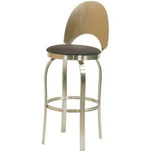 Trica Contemporary Bar Stools Champagne Bar Stool