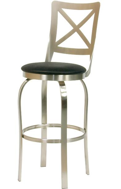 Trica Contemporary Bar Stools Chateau Bar Stool - Item Number: Chateau