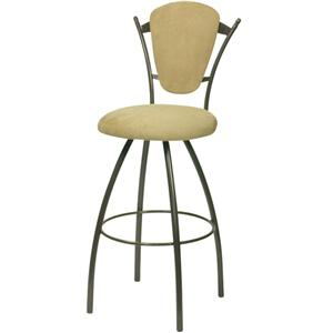 Trica Contemporary Bar Stools Clip Bar Stool