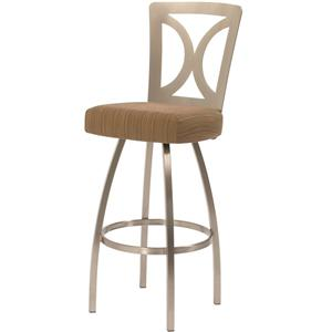 Trica Contemporary Bar Stools Grace Bar Stool