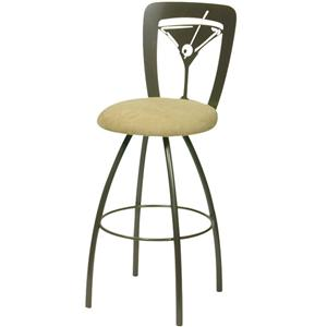Trica Contemporary Bar Stools Martini Bar Stool