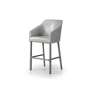 Astounding Trica Contemporary Seating Olivia Swivel Barstool With Metal Bralicious Painted Fabric Chair Ideas Braliciousco