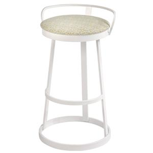 Trica Contemporary Bar Stools Texto Bar Stool