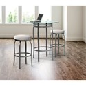 Trica Contemporary Seating Truffle Swivel Bar Stool