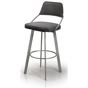 Trica Contemporary Seating Wish Bar Stool