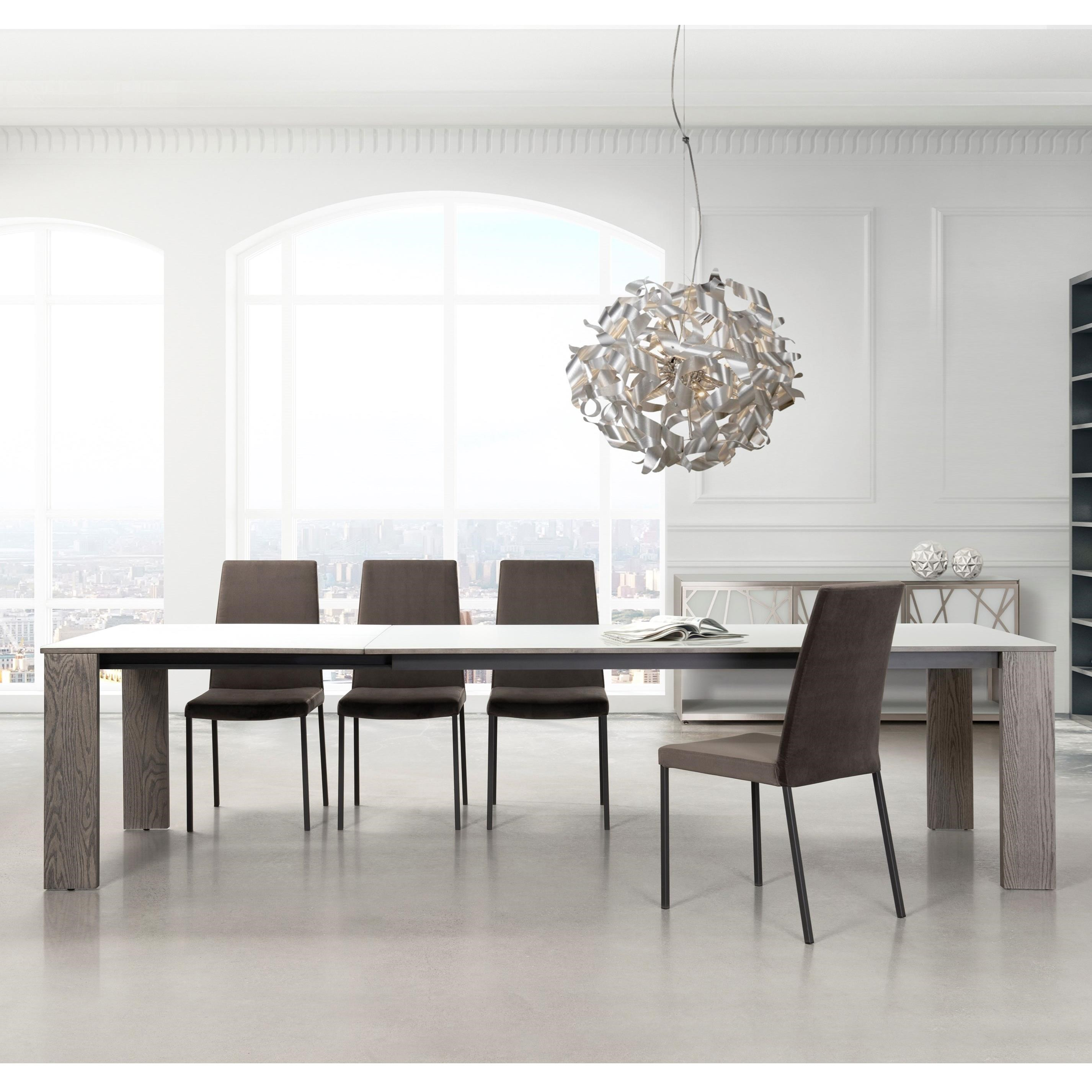 "Empire Extendable 40""x84"" Dining Table"