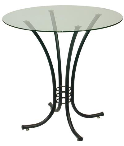 Trica Contemporary Tables Erika Round Table - Item Number: Erika