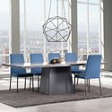 Trica Contemporary Tables Sculpture Dining Table - Item Number: Sculpture-40-84