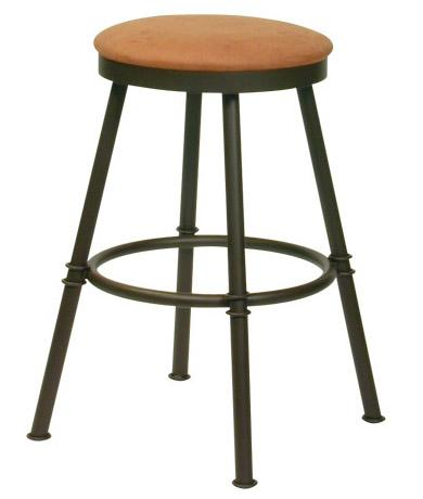 Transitional Bar Stools Sal Bar Stool by Trica at Dinette Depot