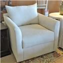 Trisha Yearwood Home Atlanta Transitional Chair with Tuxedo Arms - Item Number: 7501226450