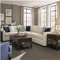 Trisha Yearwood Home Atlanta Sectional Sofa - Item Number: K27800L CRNS+R S-CuriousPearl
