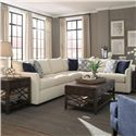 Trisha Yearwood Home Atlanta Sectional Sofa - Item Number: K27800L S+R CNRS-CuriousPearl