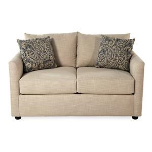 Trisha Yearwood Home Collection by Klaussner Trisha Transitional Style Loveseat