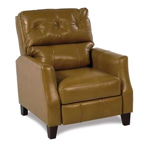 Trisha Yearwood Home Collection by Klaussner Twilight Leather Power Hi-Leg Recliner
